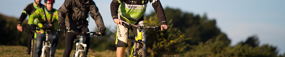 Freeride Mountain bike tours in Basque Country