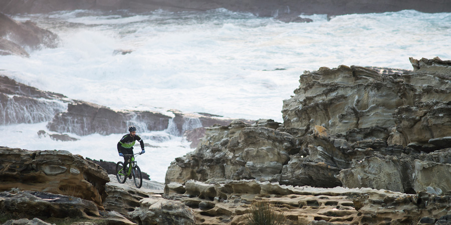 Freeride MTB with Basque By Bike in North Spain