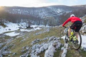 Enduro MTB and freeride in north Spain