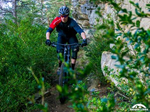 Enduro MTB trails in the Pyrenees