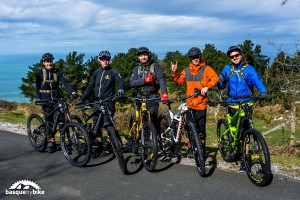 Enduro MTB camp in the Basque Country