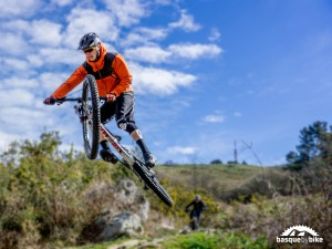 Swedish Enduro MTB camp in the North of Spain