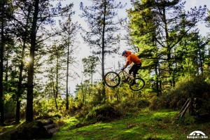 Enduro mountain bike trails near San Sebastian
