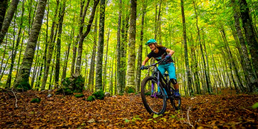 Basque Country mountain bike holiday