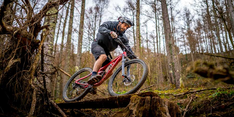 Enduro mountain bike skills