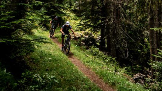 Focus mountain bikes test in the pyrenees