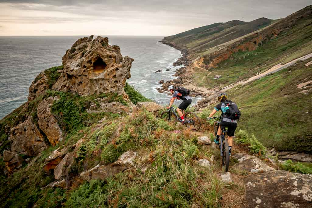 Freedom MTB adventure on the Basque Coast