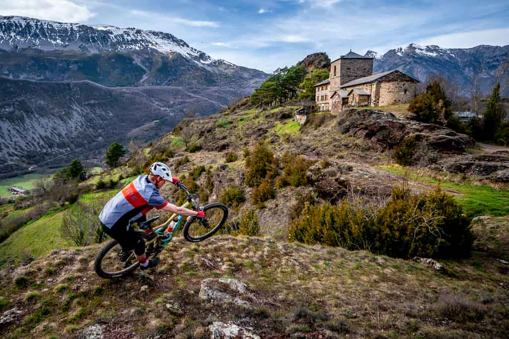 2020 MTB season riding in the Pyrenees
